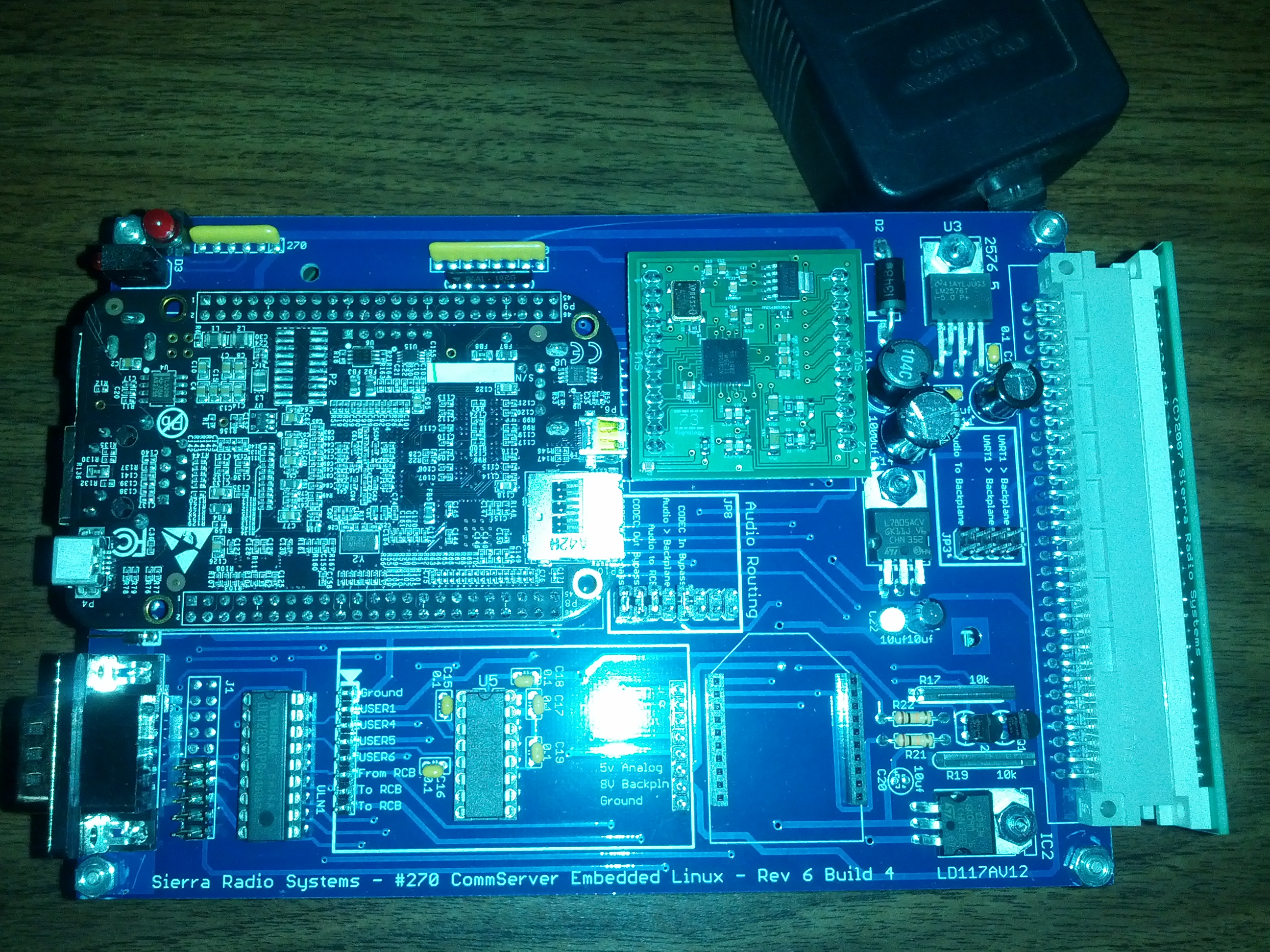 New beta VoIP board