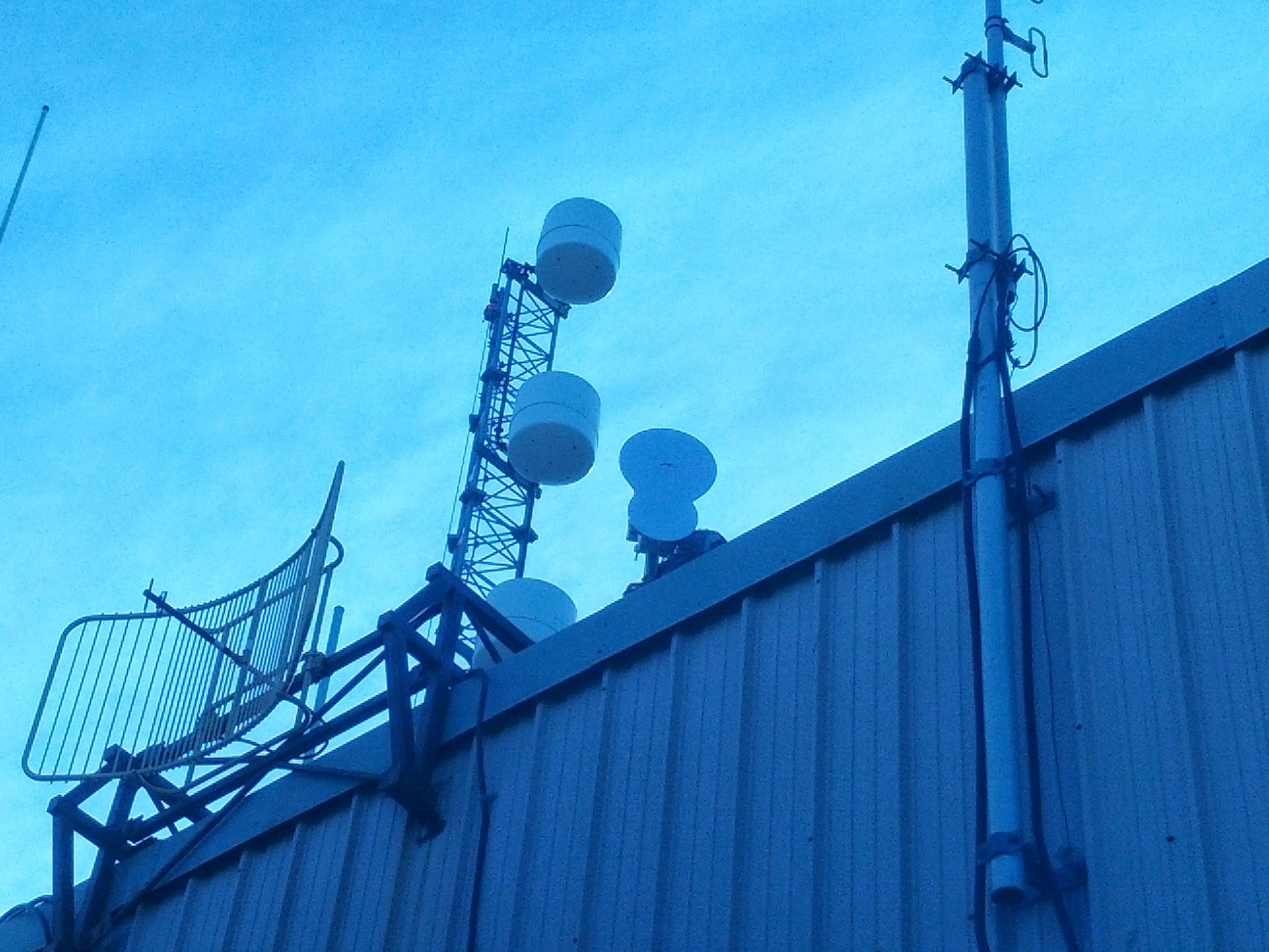 The Air Fiber ... first dish on the right-side