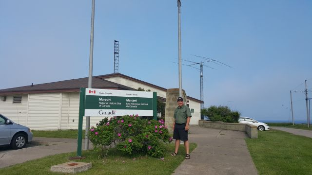 VE4DRK at Marconi site