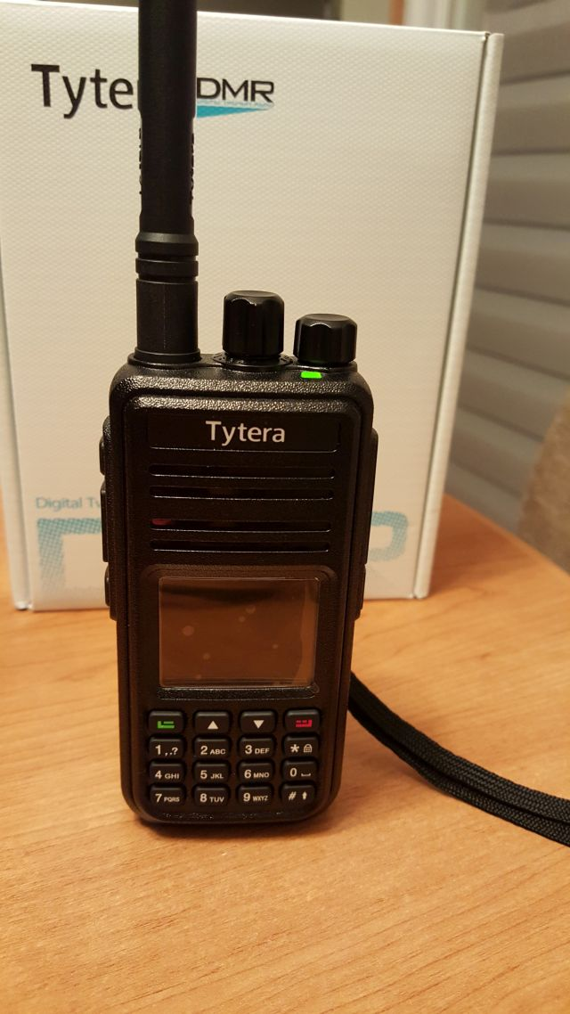 MD380 basic entry level DMR radio